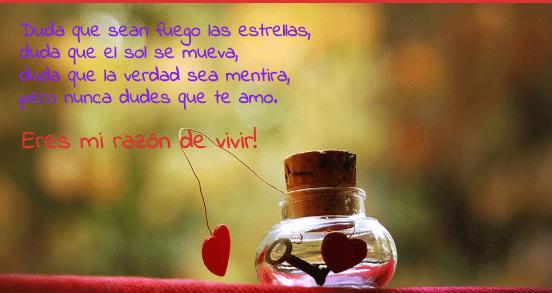 Frases Romanticas Para La Tarjeta De Amor Con La Llave De Mi Corazon