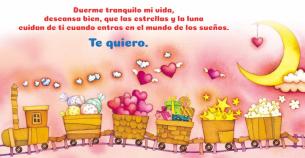 Crea tus propios mensajes de buenas noches para tus pequeños, para que se duerman tranquilos y en paz.