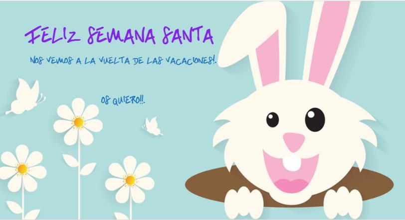 imagen del conejo de Pascua