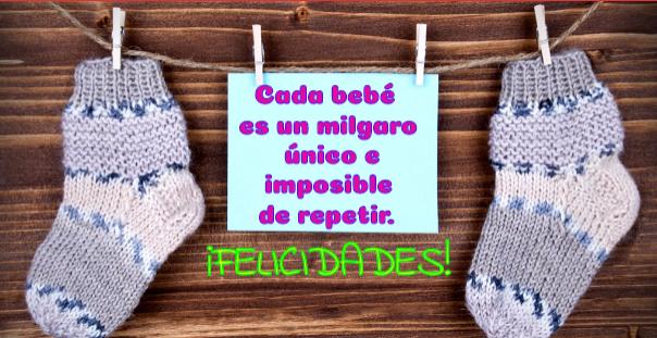 Postales con frases para bebés bonitas.