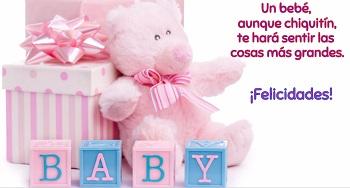 Hacer postales para niñas recién nacidas.