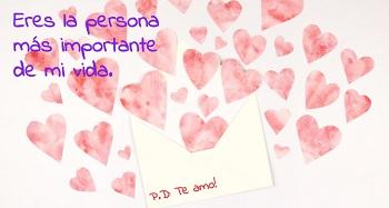 Postales con imágenes de corazones para enviar online.