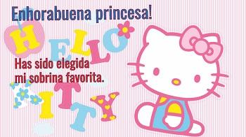 Postales gratis con imágenes de Hello Kitty.