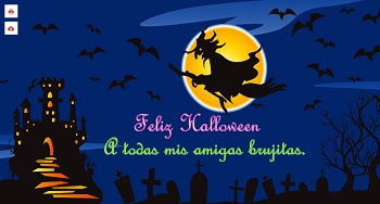 Enviar postales para Halloween online.