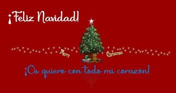 Felicitar la Navidad con postales bonitas.